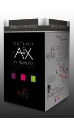 Promotion : - 20 % . Provences en BIB Rosé et Rouge jusqu'à épuisement des stocks. Coteaux d'Aix et Méditerranée