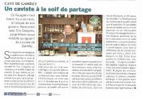 On parle de la Cave de Gamilly dans la presse. Radio France et Presse locale ;o))