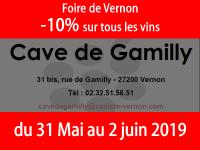 Foire de Vernon du 31 Mai au 2 Juin 2019 venez nombreux  des dégustations  et -10% ;o))